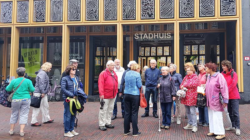 Excursie, stadswandeling Deventer